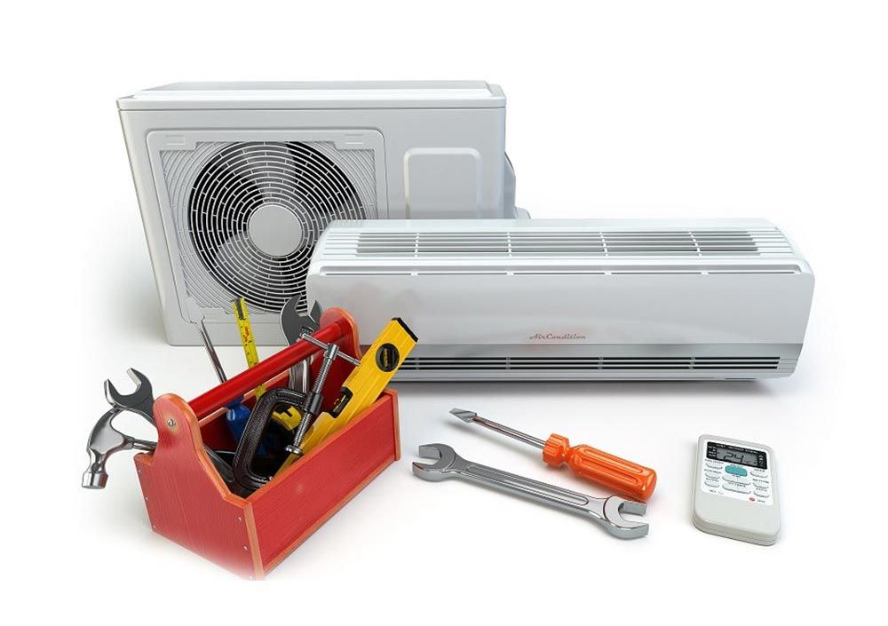 air condition και εργαλεία